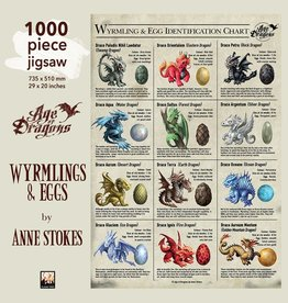 Flame Tree Anne Stokes: Wyrmling & Egg 1000pc (Flame Tree)