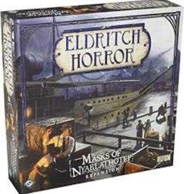 Eldritch Horror: Masks of Nyarlathotep Expansion