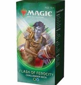 Magic: The Gathering CCG Magic the Gathering: Challenger Deck 2020: Flash of Ferocity (Green, Blue)