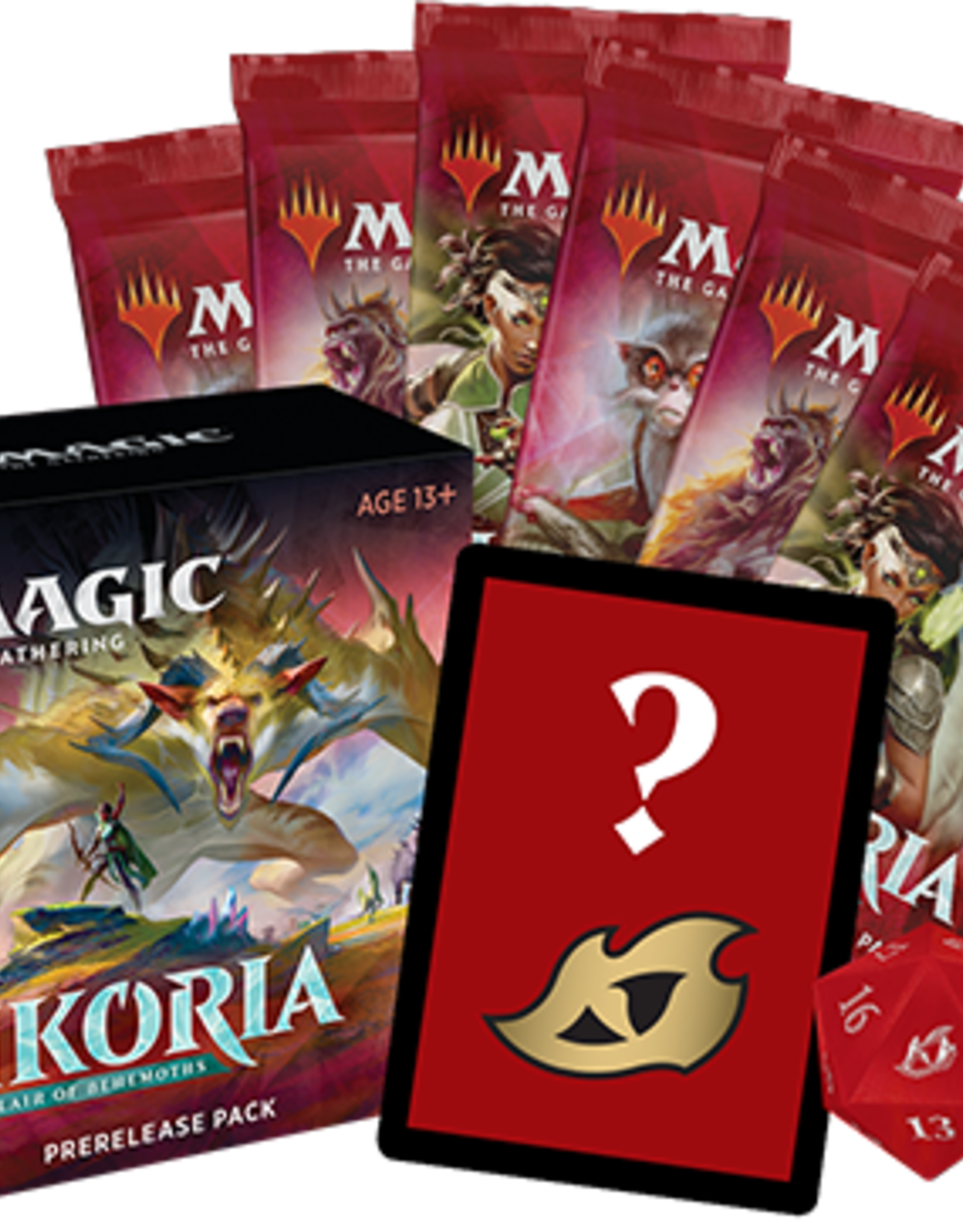Magic: The Gathering CCG Magic the Gathering: Ikoria Pre-Release Pack