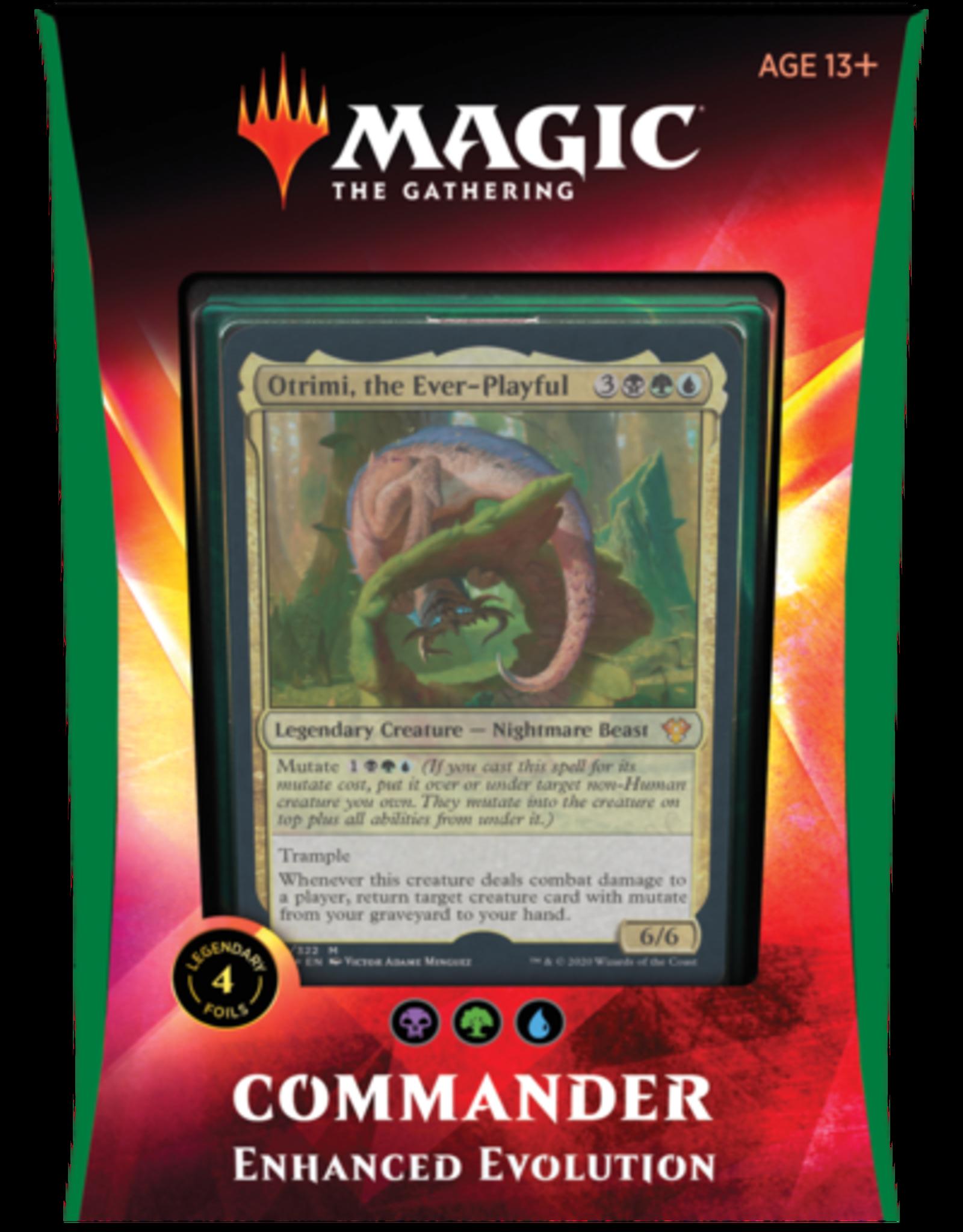 Magic: The Gathering CCG MAGIC THE GATHERING: IKORIA: LAIR OF BEHEMOTHS COMMANDER Deck: Enhanced Evolution