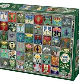 Cobble Hill Art Nouveau Tiles 1000pc Cobble Hill Puzzle