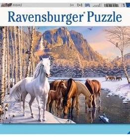 Ravensburger Winter Horses 200pc Ravensburger Puzzle