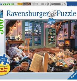 Ravensburger Cozy Retreat 500pc large format Ravensburger Jigsaw Puzzle