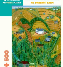 Pomegranate Mattie Lou O'Kelley: My Parents' Farm 500-Piece Jigsaw Puzzle