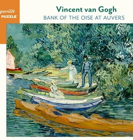 Pomegranate Vincent van Gogh: Bank of the Oise at Auvers 1000-Piece Jigsaw Puzzle
