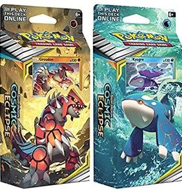 Pokemon Sun and Moon 12: Cosmic Eclipse Theme Deck