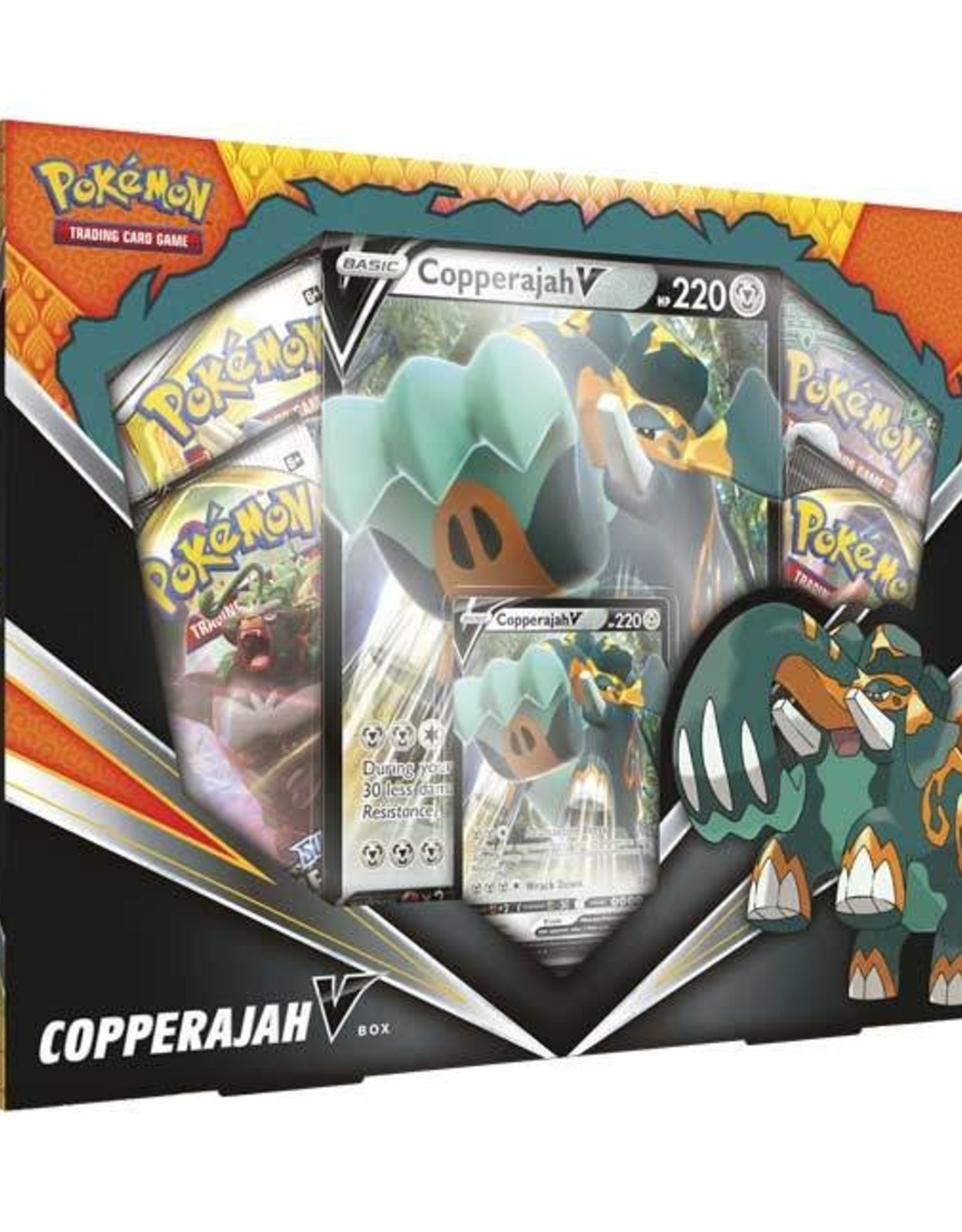 Pokemon Copperajah V Box