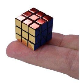 World's Smallest Rubik's Cube Metallic