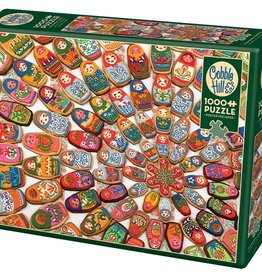 Matryoshka Cookies 1000pc Cobble Hill Puzzle