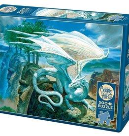 White Dragon 500pc Cobble Hill Puzzle