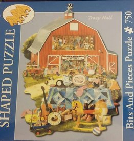 Tracy Hall: Barn Sale 750pc Bits and Pieces Puzzle