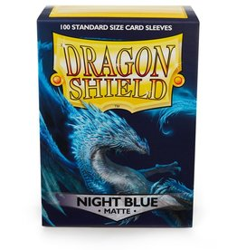 Dragon Shield SleevesMatteNightBlue100ct