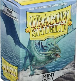 Dragon Shield Sleeves: Matte Mint 100ct
