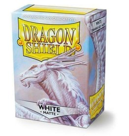 Dragon Shield Sleeves: Matte White 100ct