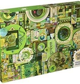 Cobble Hill Green 1000pc Cobble Hill Jigsaw Puzzle
