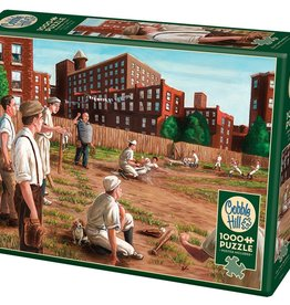 Old Time Baseball 1000pc Cobble Hill Jigsaw Puzzle