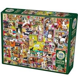 Cobble Hill Dogtown 1000pc Cobble Hill Jigsaw Puzzle