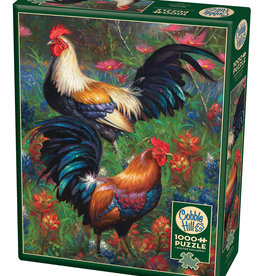 Cobble Hill Roosters 1000pc Cobble Hill Jigsaw Puzzle