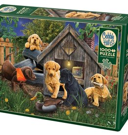 Cobble Hill In the Doghouse 1000pc Cobble Hill Jigsaw Puzzle