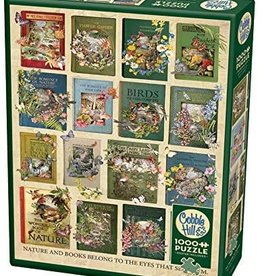 Cobble Hill The Nature of Books 1000pc Cobble Hill Jigsaw Puzzle