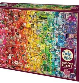 Cobble Hill Colourful Rainbow 1000pc Cobble Hill Jigsaw Puzzle