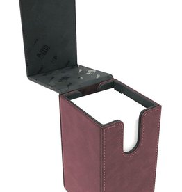Alcove Tower Deck Box: Suede Collection - Ruby