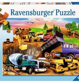 Ravensburger Construction Crowd 60pc Ravensburger Puzzle