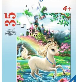 Ravensburger Unicorn Castle 35pc Ravensburger Puzzle