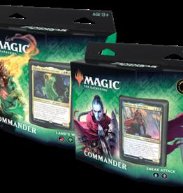 Magic: The Gathering CCG MTG Zendikar Rising Commander Deck