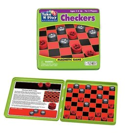 Patch Magnetic Checkers - Take N Play Anywhere