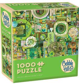 Green (Modular 1000) 1000pc Cobble Hill Jigsaw Puzzle