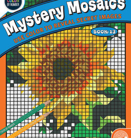 MYSTERY MOSAICS BOOK 13 (COLOR BY NUMBER)
