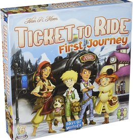 Asmodee Ticket to Ride: First Journey - Europe