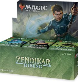 Magic: The Gathering CCG MTG Zendikar Rising Draft Booster Box