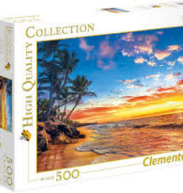 Clementoni Paradise Beach 500pc Clementoni Jigsaw Puzzle