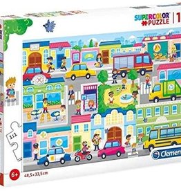 Clementoni In the City 104 pc Clementoni Jigsaw Puzzle