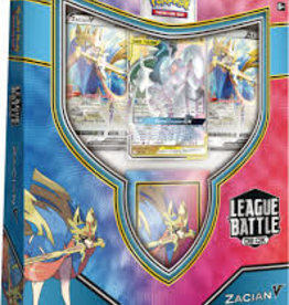 Pokemon Pokemon TCG Zacian V League Battle Deck