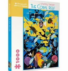 Pomegranate Charley Harper: The Coral Reef 1000pc Pomegranate Jigsaw Puzzle
