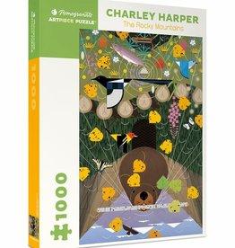 Pomegranate Charley Harper Rocky Mountains 1000pc Pomegranate Jigsaw Puzzle