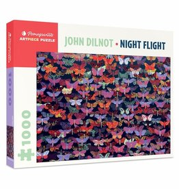 Pomegranate John Dilnot: Night Flight 1000pc Pomegranate Jigsaw Puzzle