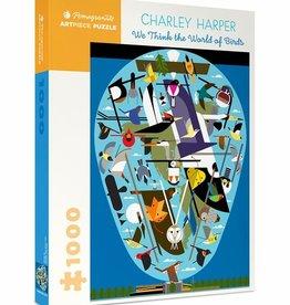 Pomegranate Charley Harper: The World of Birds 1000pc Pomegranate Jigsaw Puzzle