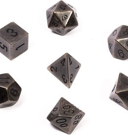 chessex Chessex 8 Dice Set Dark Metal