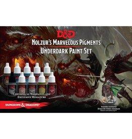 Dungeons & Dragons Nolzur's Marvelous Pigments: Underdark Paint Expansion Set