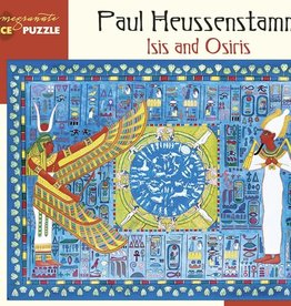 Pomegranate Paul Heussenstamm: Isis and Osiris 300pc Pomegranate Jigsaw Puzzle