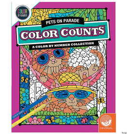 Color By Number: Color Counts: Pets on Parade