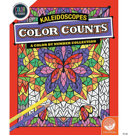 COLOR COUNTS: KALEIDOSCOPE (COLOR BY NUMBER)
