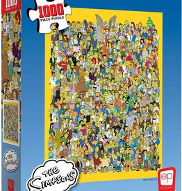 USAopoly The Simpsons: Cast of Thousands 1000 pc Jigsaw Puzzle