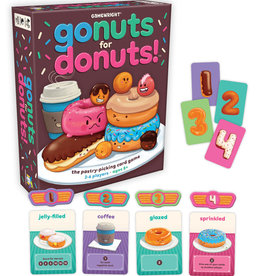 Gamewright Go Nuts fo Donuts!