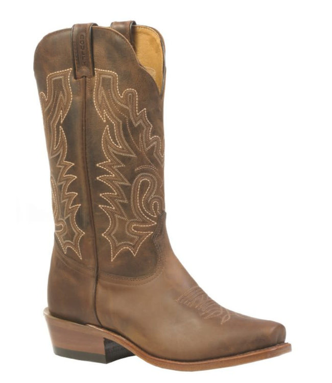Boulet Leather Cutter Toe Boots